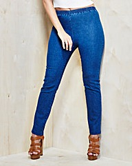 Slim-Leg Jeggings Short