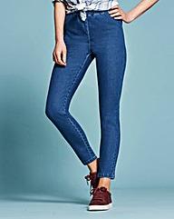 Slim-Leg Jeggings Short