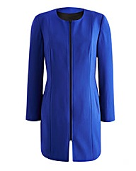 Petite Joanna Hope Longline Zip Jacket