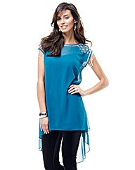 Joanna Hope Beaded Longline Tunic