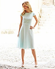 JOANNA HOPE Lace Bodice Dress