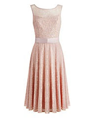 JOANNA HOPE Embellished Lace Dress