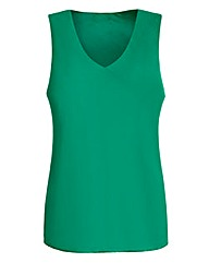 JOANNA HOPE Sleeveless Chiffon Top