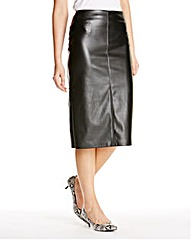 JOANNA HOPE PU Pencil Skirt