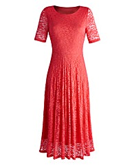 JOANNA HOPE Lace Dress Mid Length