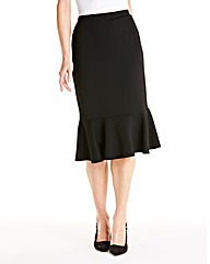 JOANNA HOPE Textured Jersey Skirt