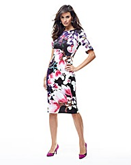 Joanna Hope Scuba Print Jersey Dress