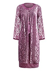 JOANNA HOPE Lace Dress and Jacket Set