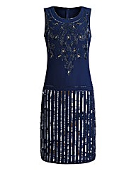 JOANNA HOPE Sequin Embellished Dress