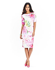 JOANNA HOPE Print Scuba Dress