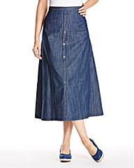 JOANNA HOPE Denim Skirt