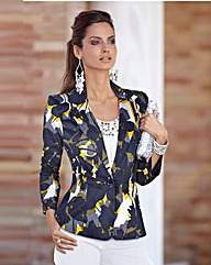 Together Print Tailored Jacket