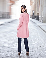 Togther Bow Back Detail Coat