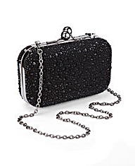 JOANNA HOPE Diamante Detail Clutch