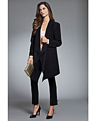 Together Drape Front Jacket
