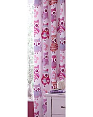 Twit Twoo Owl Lined Curtains
