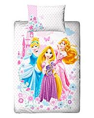 Disney Princess Dreams Panel Duvet