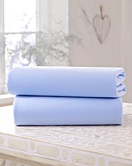 Clair De Lune Twin Pack Fitted Sheets