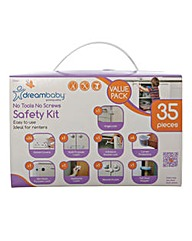 Dreambaby No Tools No Screws 35pc Kit