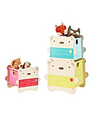 Hello Home Bear Hug Stack Storage