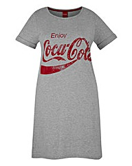 Coca-Cola Logo Christmas Nightdress