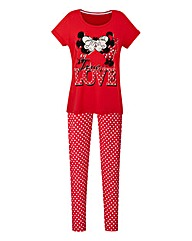 Mickey and Minnie Christmas Pyjama Set