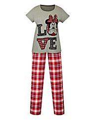Minnie Mouse Christmas Pyjama Set