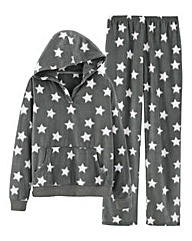 Pretty Secrets Fleece Hooded Pyjama Set