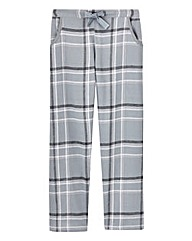 Check Pyjama Bottoms Regular 28in