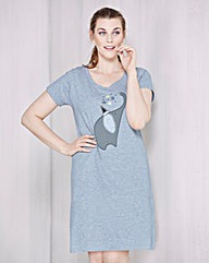 Pretty Secrets Elephant Print Nightdress
