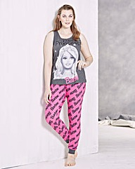 Barbie Leggings Pyjama Set