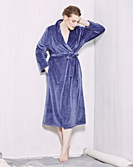 Naturally Close Super-Soft Velour Gown