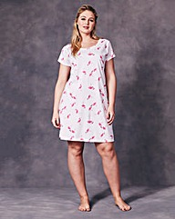 Pretty Secrets Flamingo Print Nightdress