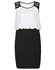 Praslin Lace Shoulder Dress