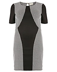 Sienna Couture Spotty Bodycon Dress