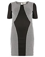 Sienna Couture Spotty Bodycon Dress