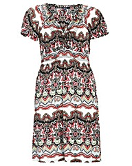 Samya Floral Printed Dress