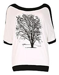 Samya Tree Print Tee