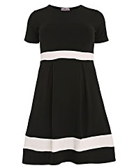 Praslin Skater Dress With Band