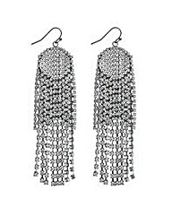 Mood Diamante crystal shower earring