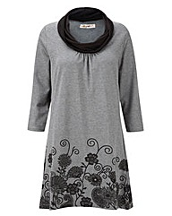 JOE BROWNS HONEYCOMB JERSEY TUNIC