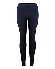 High Waisted Plain Leggings