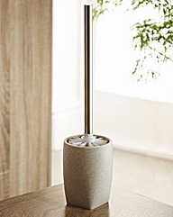 Stone Effect Toilet Brush & Holder