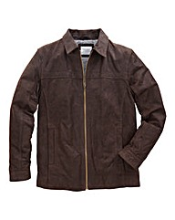 WILLIAMS & BROWN Leather Harrington
