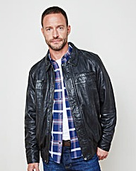 WILLIAMS & BROWN Leather Jacket