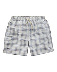 WILLIAMS & BROWN Check Swimshorts