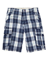 WILLIAMS & BROWN Check Cargo Short