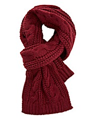 Orson Cable Knit Scarf