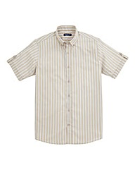 Premier Man Short-Sleeve Stripe Shirt