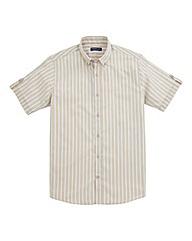 Premier Man Short-Sleeve Stripe Shirt